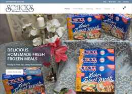 Schick's landing page