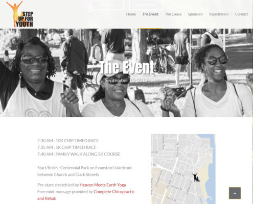 Step Up for Youth - Windy City Sites